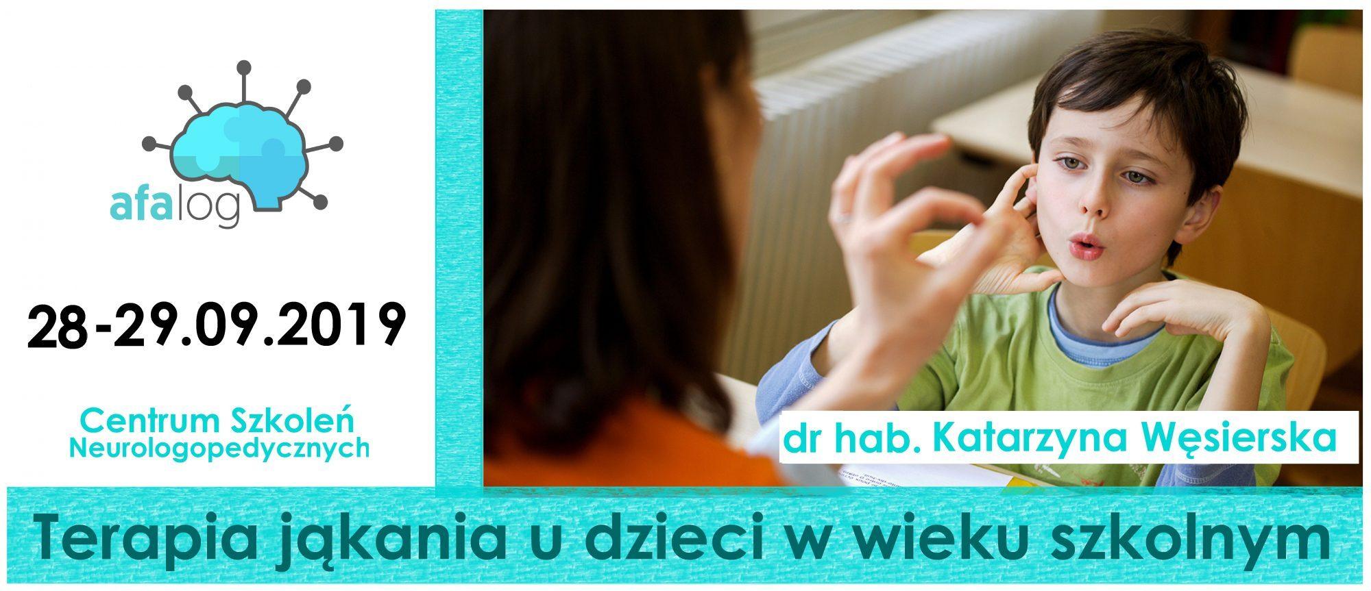 Terapia jąkania w praktyce z dr hab. Katarzyną Węsierską